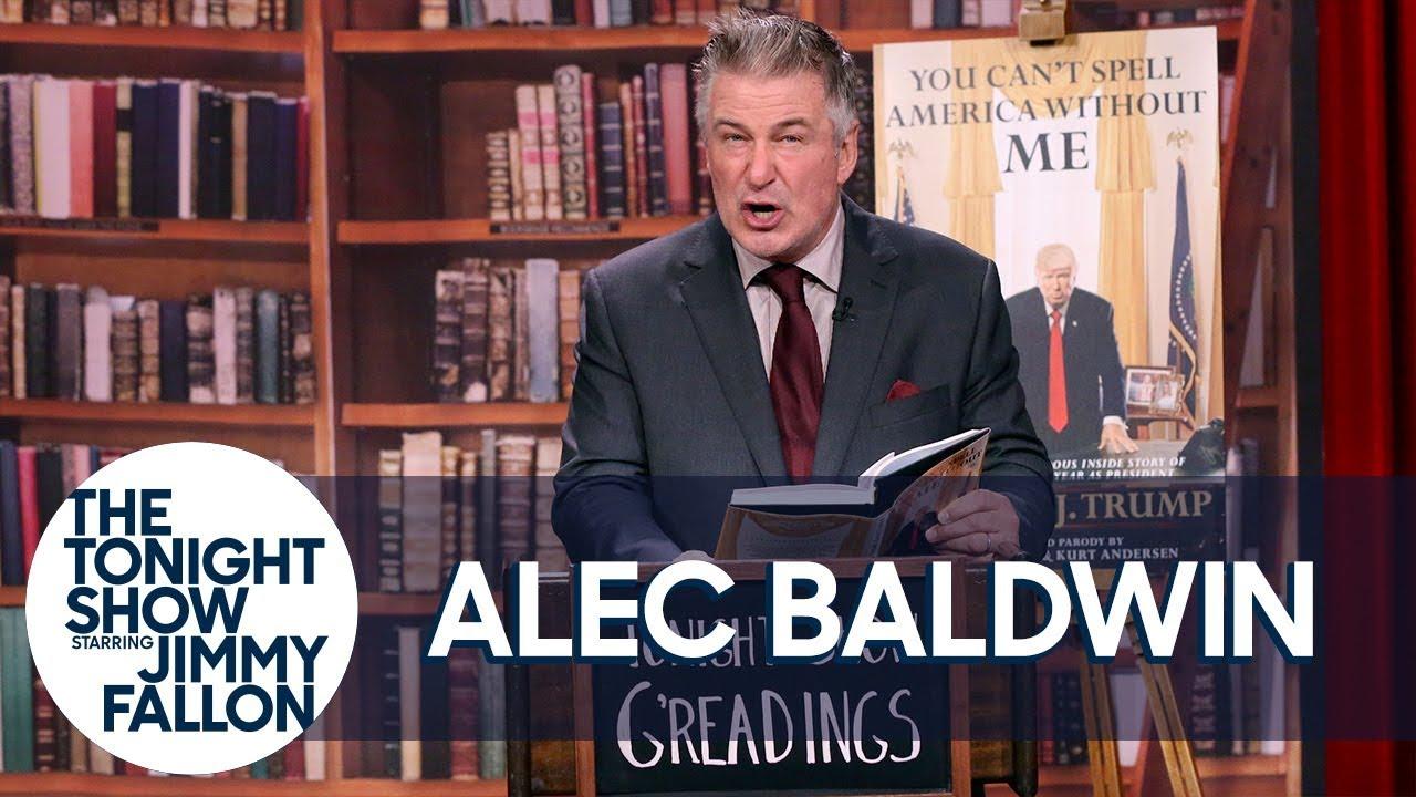 Alec Baldwin Gives a Reading of His Parody Donald Trump Memoir thumbnail