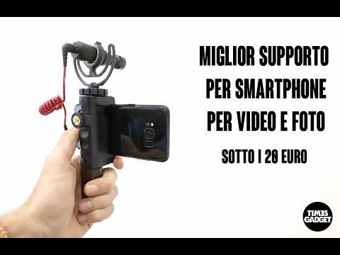 Miglior supporto per smartphone con slitta, per video e foto, sotto i 20euro