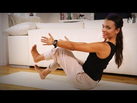 Der Plan der Öbungen für die Abmagerung der Beine