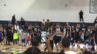 Brooklyn Nets 2016 Open Practice Rookie Dance-Off
