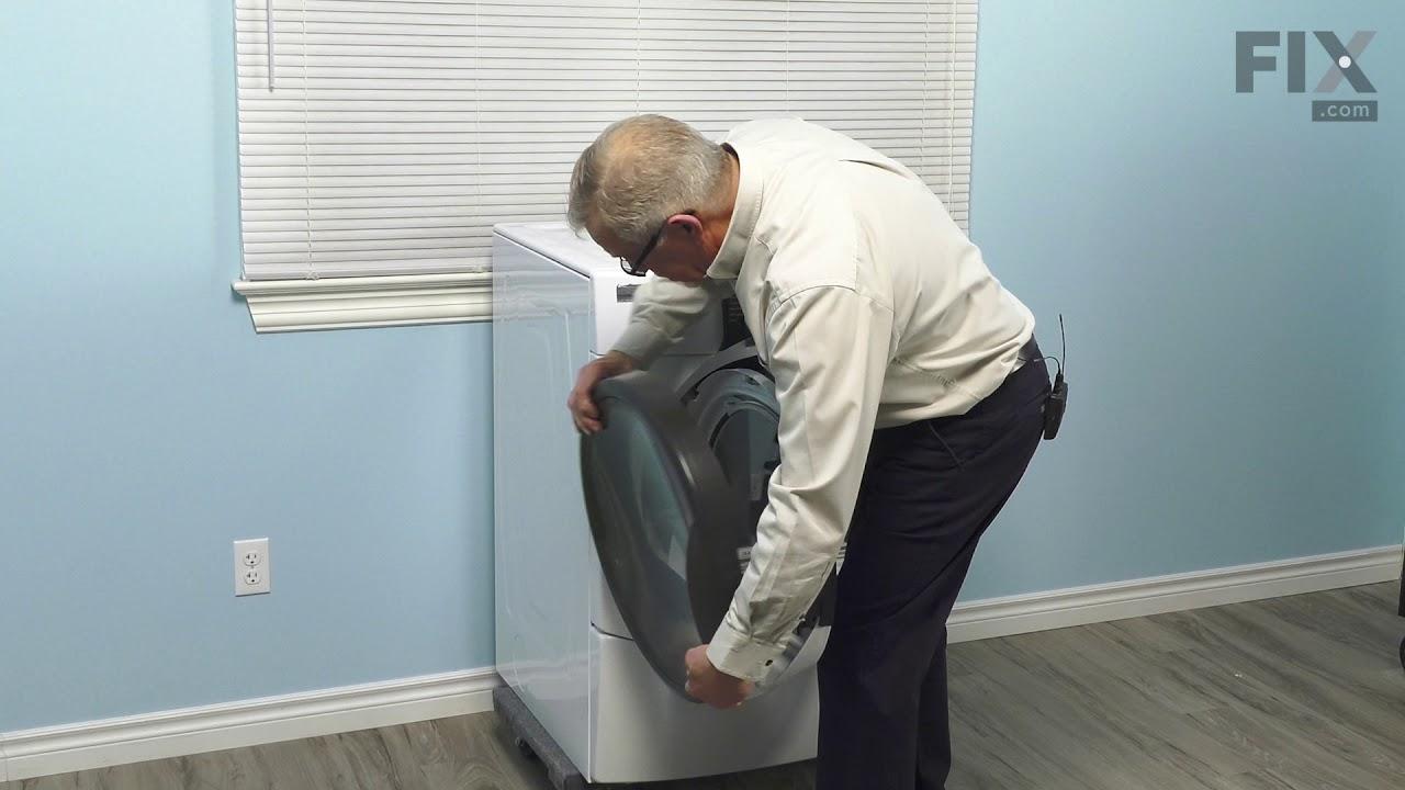 Replacing your Kenmore Dryer Door Handle - Black