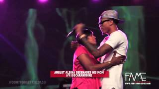 """August Alsina Sings """"Make It Home"""" To His #1 Fan!"""