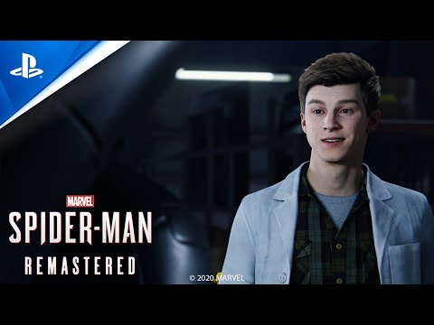 SIE公開PS5《漫威蜘蛛人 高清版》的宣傳影像
