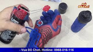 Đồ Chơi Găng Tay Người Nhện Bắn Tơ Spider Man