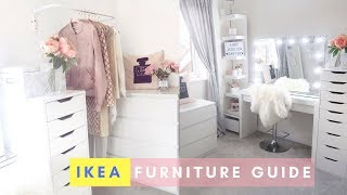 IKEA MALM DRESSING TABLE & FURNITURE GUIDE | Lucy Jessica Carter