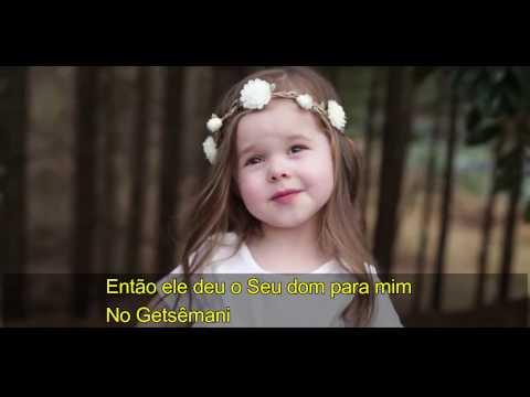 """Canção de Páscoa: Menina de 3 anos canta """"Getsêmani"""""""