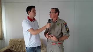 Bombeiros de Capitão realizam treinamento em Escolas municipais e CEMEIS