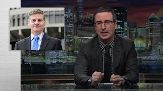 John Oliver - Bill English and update on Eminem's lawsuit against New Zealand National party