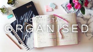 How I Stay Organised · My Planner System   Bullet Journal · SemiSkimmedMin