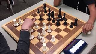 "Pawn Race Leads To Sweet Checkmate!  ""Tiger"" Tre vs. ""Nuclear"" Nirvan"