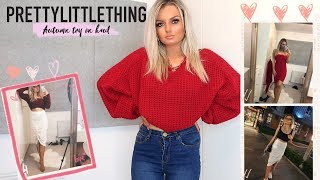 HUGE AUTUMN PRETTY LITTLE THING TRY ON HAUL! | testing affordable Autumn fashion