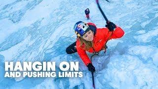 Pro Rock Climber Sasha DiGiulian Goes Ice Climbing