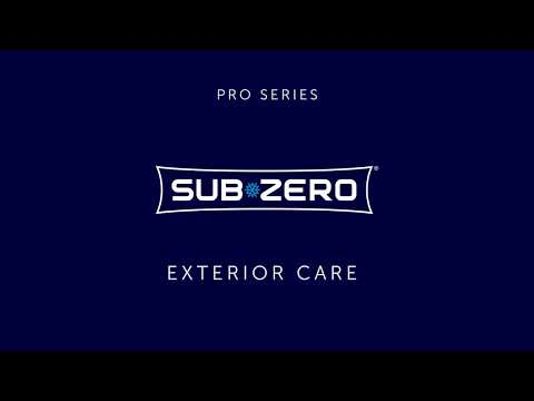 Sub-Zero PRO Series - Exterior Cleaning and Care