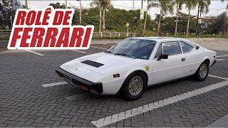 Role de Ferrari Dino 308 GT4 + Clássicos no Shopping Villa Lobos - SP | Vlog EP13
