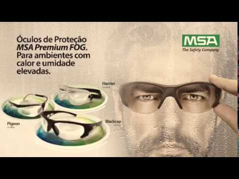 oculos proteção msa blackcap premium fog 100% antiembaçante. Carregando  zoom. ebed591db7