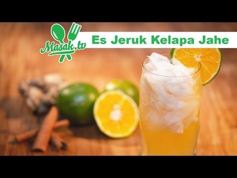 Video Es Jeruk Kelapa Jahe | Minuman #094