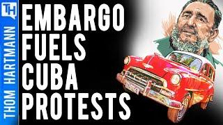 Hidden Hand of US Blockade Sparks Cuba Protests (w/ Leonardo Flores)