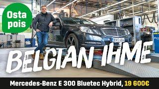 Käytetty: Mercedes-Benz E 300 Bluetec Hybrid (19 600€) - Belgian ihme