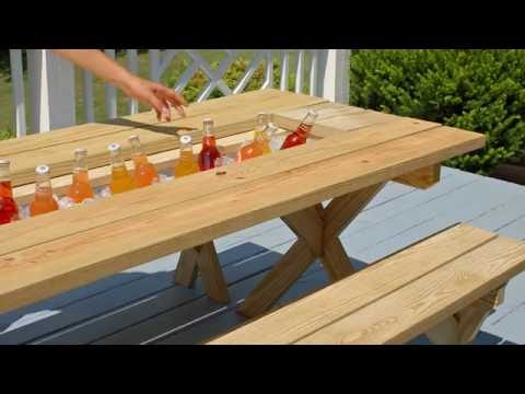 YellaWood® Picnic Table Hack