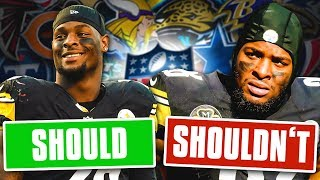 5 Teams that SHOULD SIGN Le'Veon Bell... and 5 that Should STAY AWAY