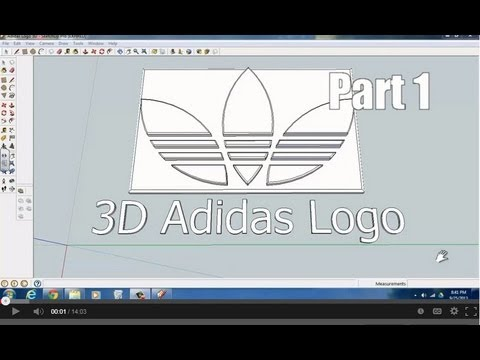 Download youtube to mp3 adidas logo with sketchup part 1 for Google sketchup converter