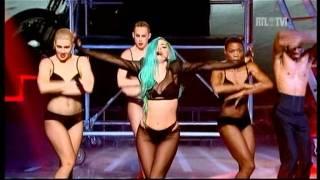 Lady Gaga - The Edge of Glory - judas Live in Paris X factor