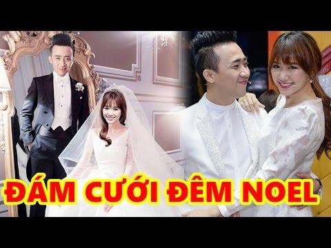Trấn Thành và Hari Won đã chính thức cưới vào đêm Noel Khiên cư dân mạng xôn xao - Tin Sao Việt