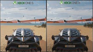 Forza Horizon 3 - Xbox One S vs Xbox One X - 1080p Graphics Comparison