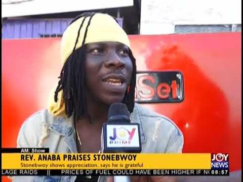 Rev. Anaba Praises Stonebwoy - AM Showbiz on JoyNews (21-9-18)