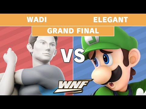 WNF 1.10 - WaDi (Wii Fit Trainer) vs  Elegant (Luigi) Grand Finals - Smash Ultimate