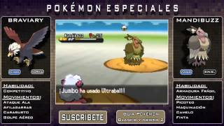 Mandibuzz  - (Pokémon) - Pokémon Especiales   Como conseguir a Braviary y Mandibuzz   #1