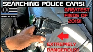 Searching Police Cars! Greatest Finds of 2019! Crown Rick Auto