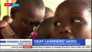 Research: Many deaf children facing communication challenges