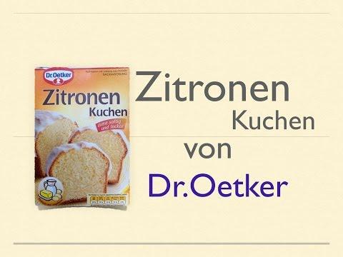 Zitronen Kuchen von Dr.Oetker (Backmischung)