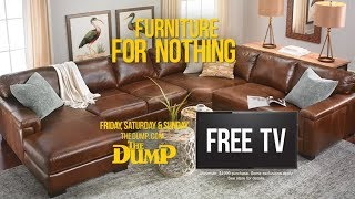 Free TV Furniture Sale at The Dump
