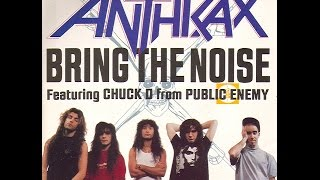 Anthrax & Public Enemy -Bring The Noise '91