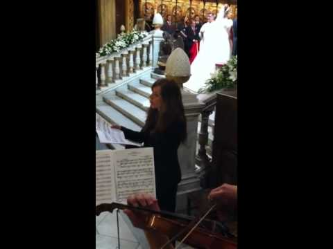 Ave Maria de Schubert con Soprano violín y Piano