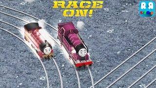 Victor vs Ryan The Purple Engine | VS Mode - Thomas & Friends: Race On!