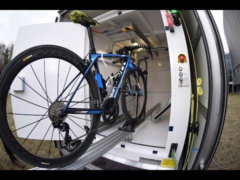 Una pratica dimostrazione della tecnologia utilizzata dall'UCI per sconfiggere la frode tecnologica.