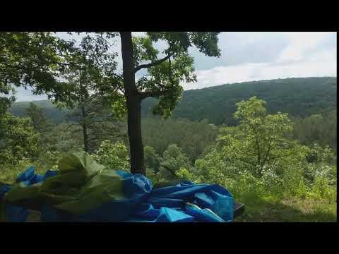 View from campsite pines overlook loop