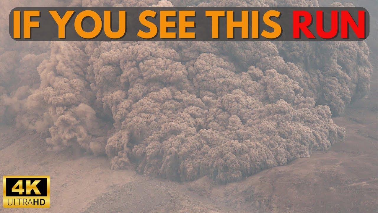 Названа причина высокой скорости вулканических газов и пепла