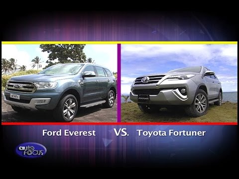 Head To Head Ford Everest Vs Toyota Fortuner Auto Focus