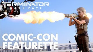 VIDEO: TERMINATOR: DARK FATE – SDCC 2019 Featurette