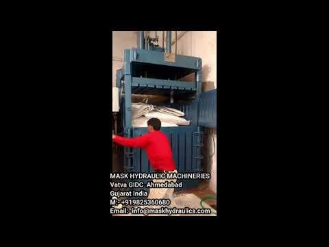 FIBC Jumbo Bag Bale Press Machine