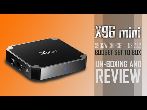LibreELEC sur X96 Mini (Amlogic S905W) - смотреть онлайн на Hah Life