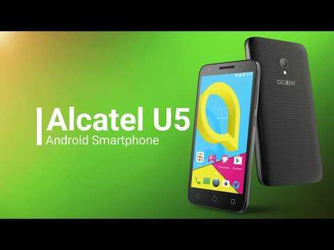 Alcatel U5 (unboxing) Sun Cellular
