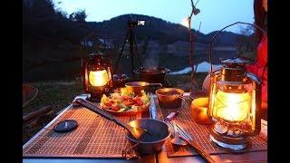 久しぶりの夫婦キャンプ②ダッチオーブンで料理