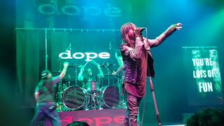 DOPE 2016 REUNION TOUR LIVE IN ANAHEIM CA - YOU SPIN ME ROUND