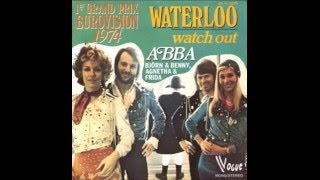 1974 ABBA - Waterloo (German Version)