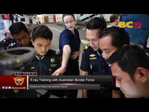 X-ray Training with Australian Border Force